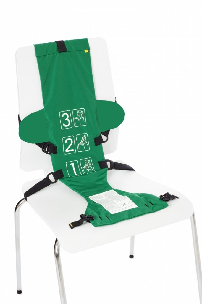 baby seat green