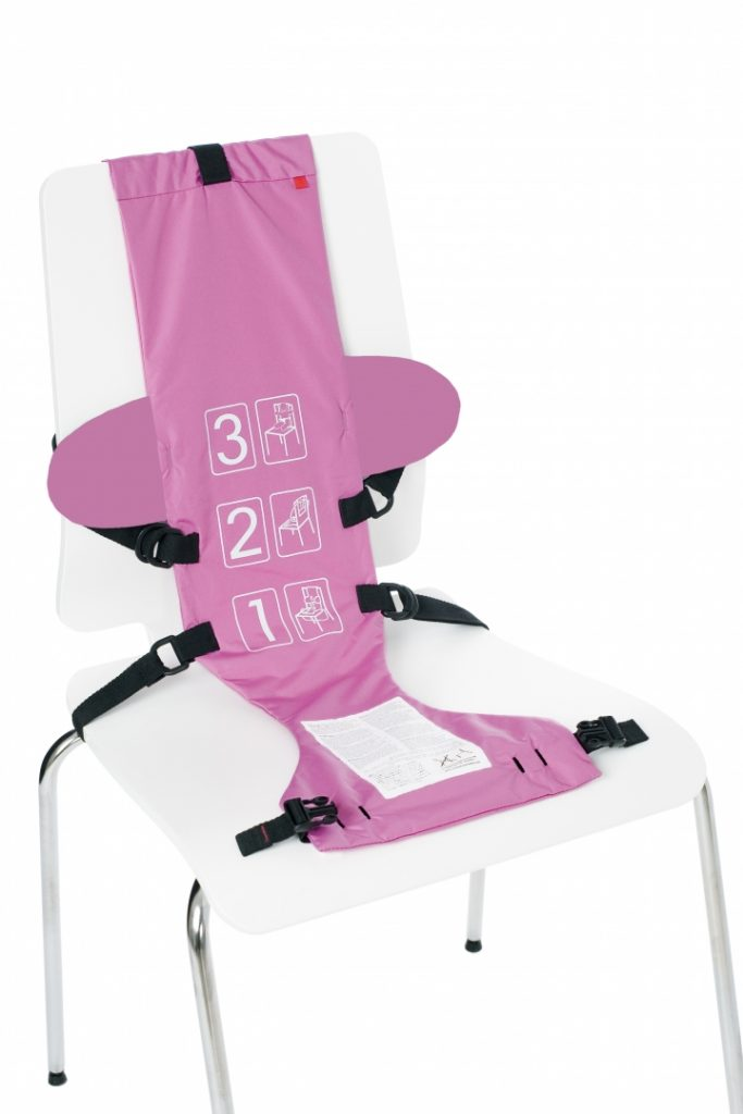 baby seat pink