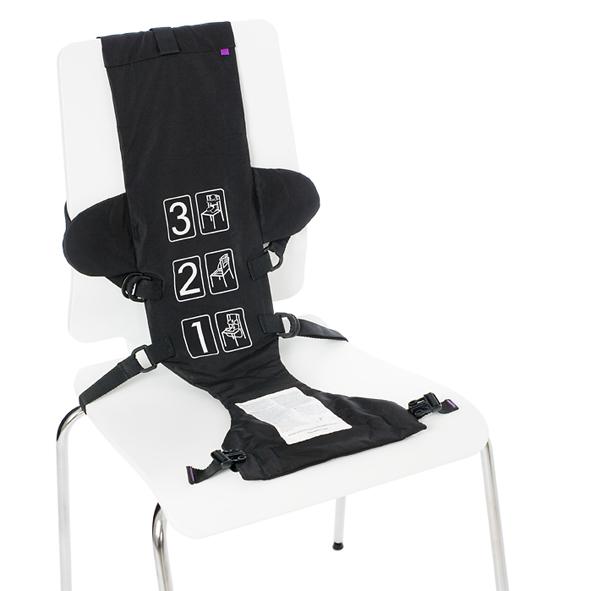 Baby seat black